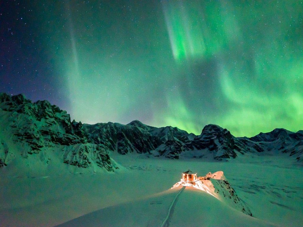 Foto Lo chalet di lusso nel cuore dell'Alaska (con vista sulle aurore boreali)