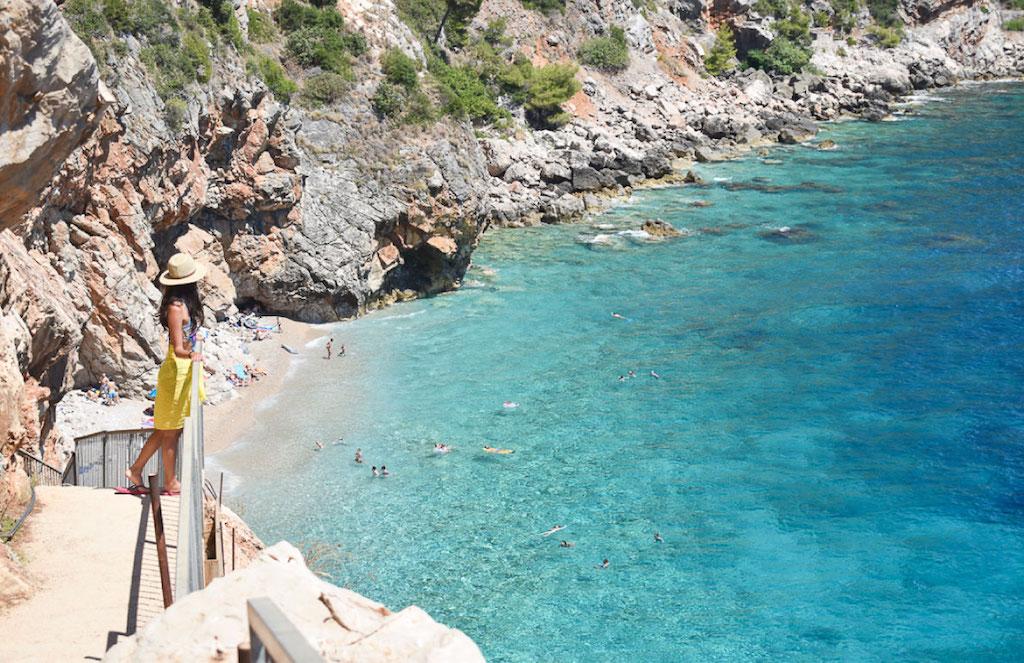 La spiaggia Pasjača, Croazia
