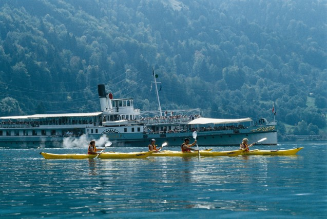 Svizzera, escursioni slow in battello