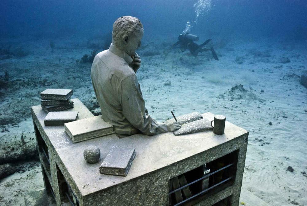 Musa, il museo sottomarino di Cancun, in Messico