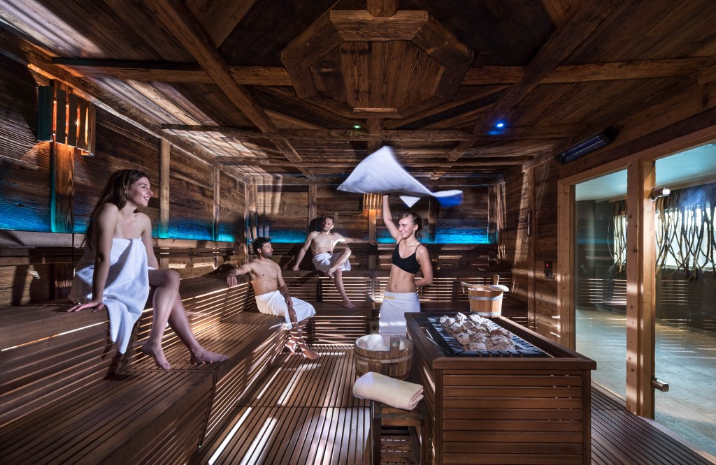 Relax, sport e benessere all'Aquagranda di Livigno. Photo credit APT Livigno