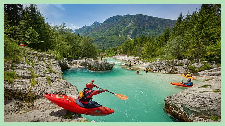 Vacanze attive: viaggio a tutto sport nella Slovenia alpina