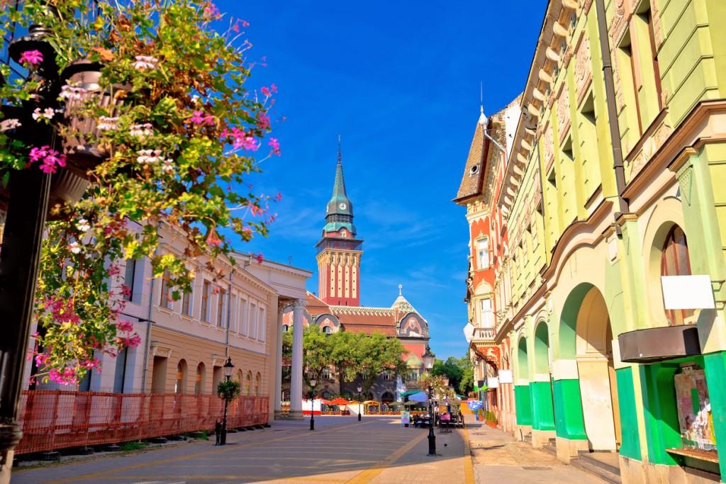 Cosa vedere in Serbia: il centro storico di Subotica