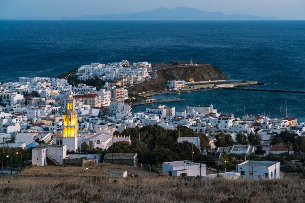 Vista sulla Hora di Tinos (ph: Marisa Montibeller/DOVE).
