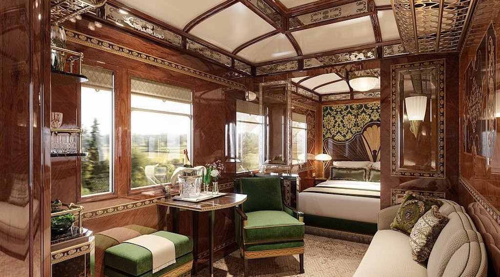 Le nuove (lussuose) suite dell'Orient Express