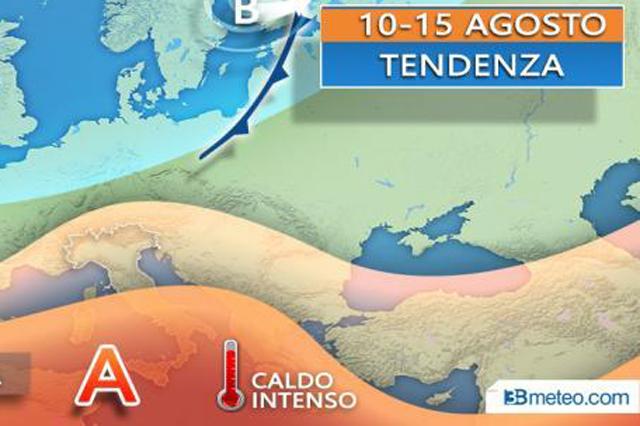 Meteo, le previsioni di domenica 11 agosto