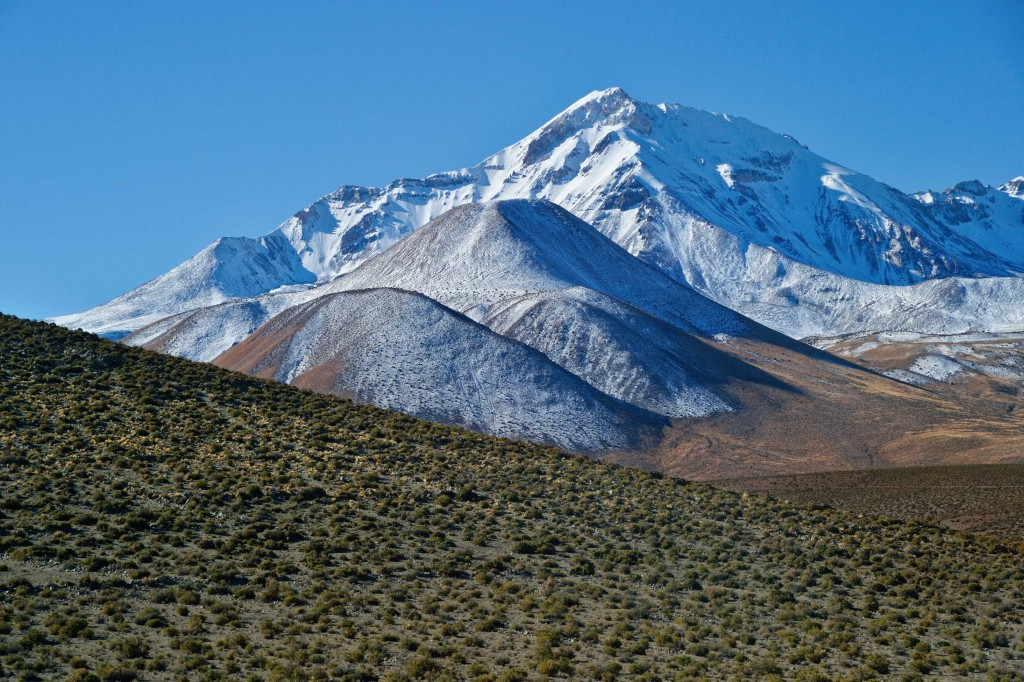 Deserto di Atacama: sulla strada verso Isluga.