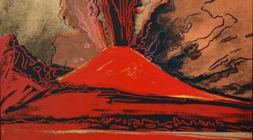 05_Warhol Napoli_Andy Warhol, Vesuvius, 1985, serigrafia su carta 100×81 cm