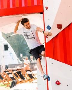 Stefano Ghisolfi è uno degli arrampicatori più forti del momento.