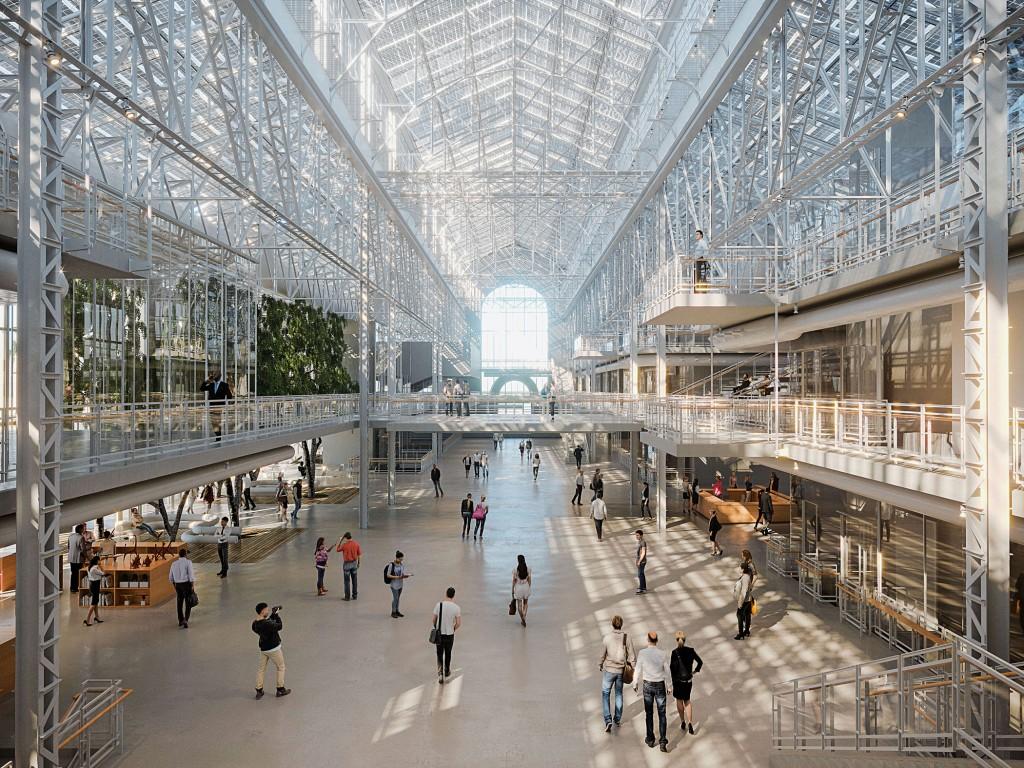 Il progetto del GES-2, uno dei prossimi poli dedicati all'arte contemporanea a Mosca, firmato da Renzo Piano.