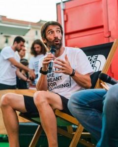 Hervé Barmasse, alpinista, guida, scrittore, fotografo, regista.