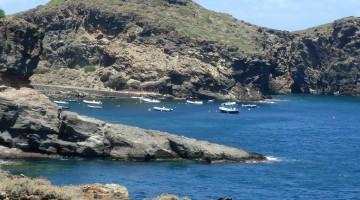 Pantelleria, Italy – July 31, 2007 : Pantelleria coastline