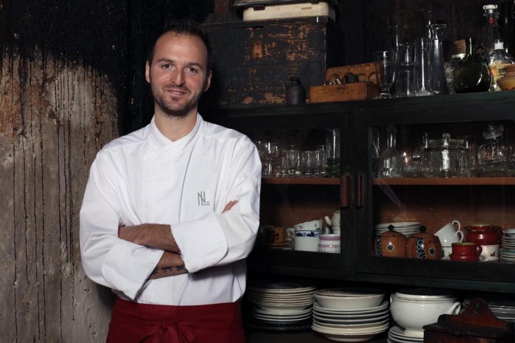 Lo chef stellato Nicola Laera