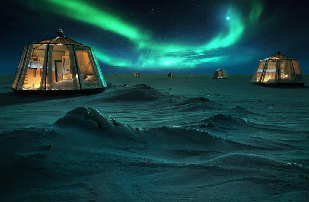 Ice hotel: qui potete dormire sotto zero
