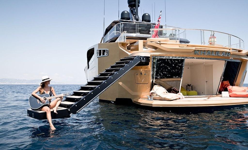 Gli yacht più stravaganti del mondo
