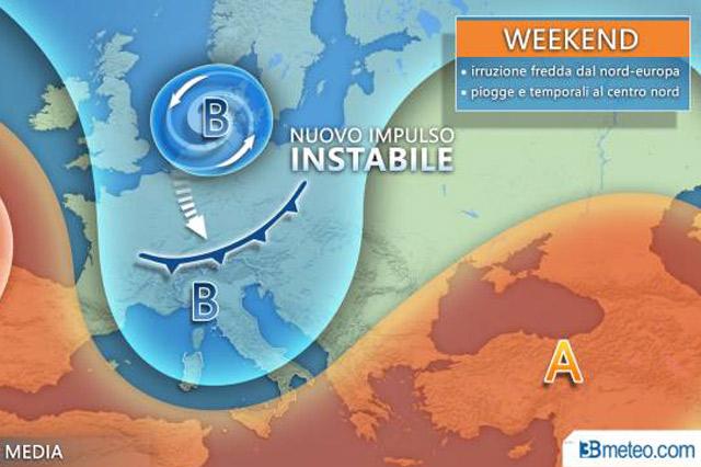 previsioni meteo del fine settimana: che tempo farà in Italia il 7 e 8 settembre