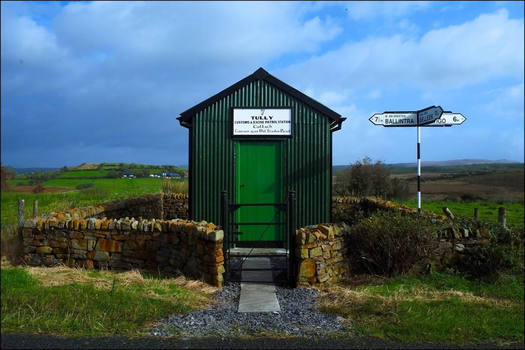 Ex luogo di frontiera tra Irlanda del Nord e del Sud a Tully, presso Pettigo. Foto di Carlo Rotondo