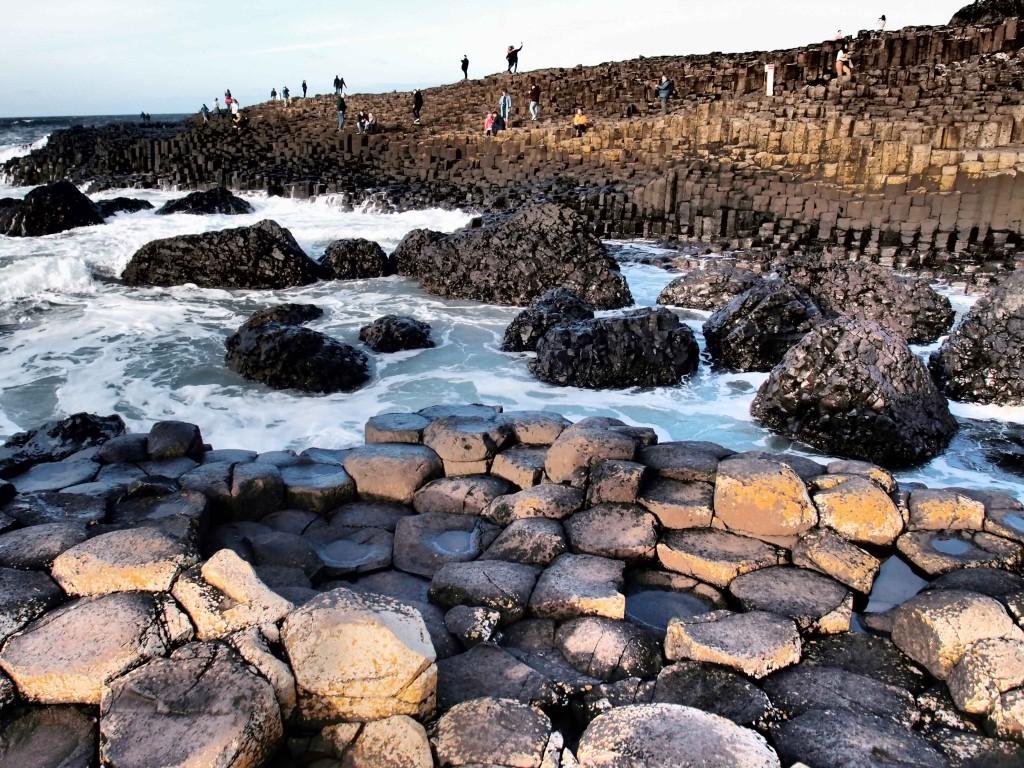 Giant's Causeway, la formazione naturale di 40mila colonne di basalto, lungo la costa Nord dell'Ulster. Foto di Valeria Palumbo