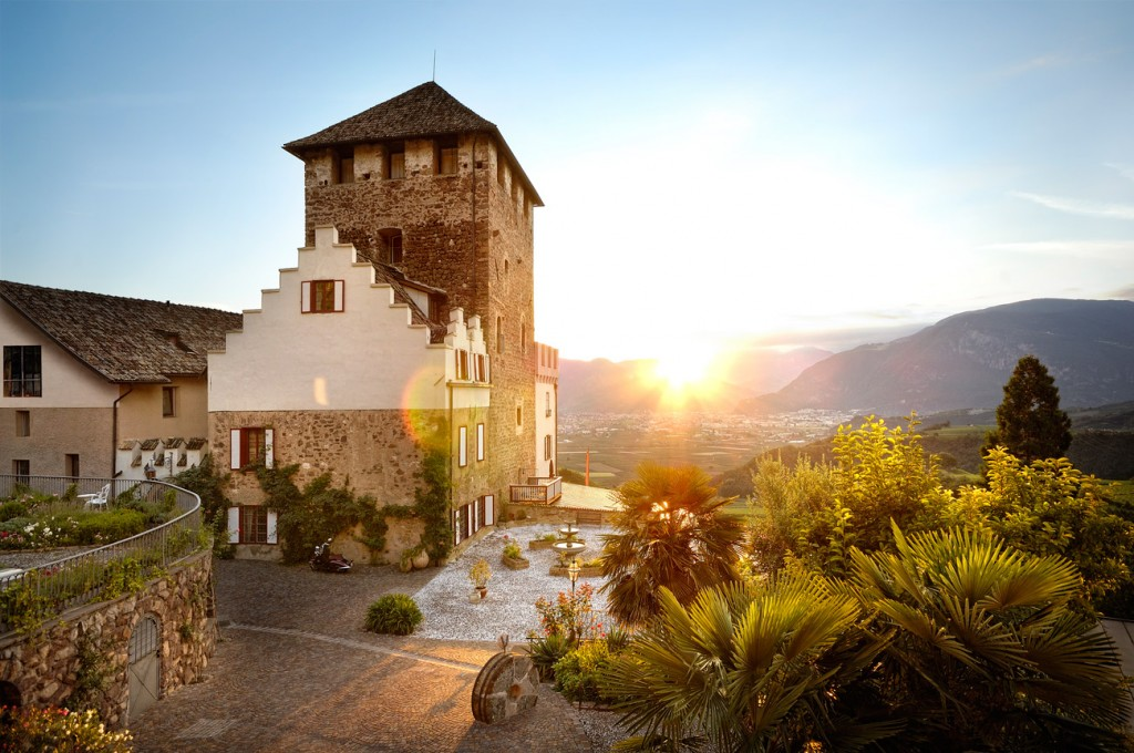 Allo Schloss Korb si visita la cantina e si dorme nella storica dimora