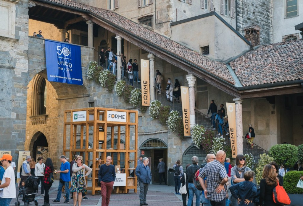 Forme, manifestazione dei formaggi a Bergamo