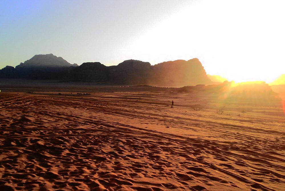 Giordania, on the road tra mare e deserto