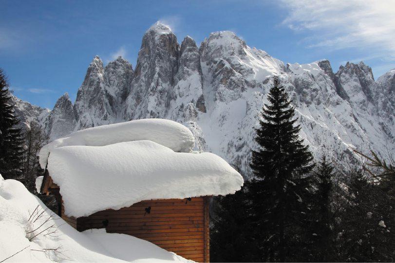 Veneto: sciare nell'Agordino tra le Dolomiti