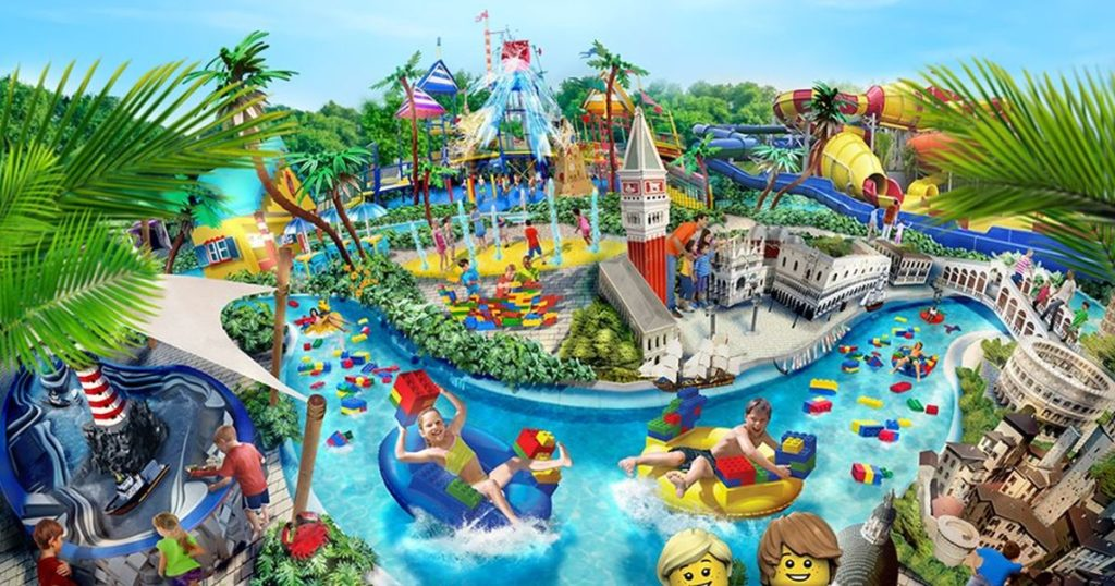 Legoland Water Park a Gardaland