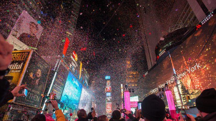 Foto New York, Capodanno nei luoghi simbolo della festa