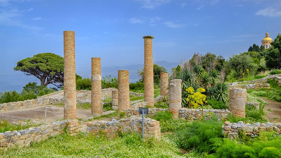 L'area archeologica di Tindari