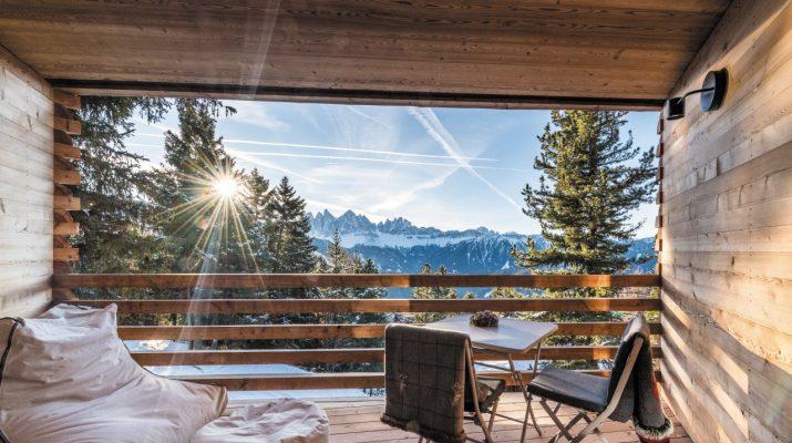 Foto Rifugi di lusso: godersi la montagna nel silenzio, con tutti i comfort