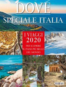cover rivista Dove Speciale Italia 2020