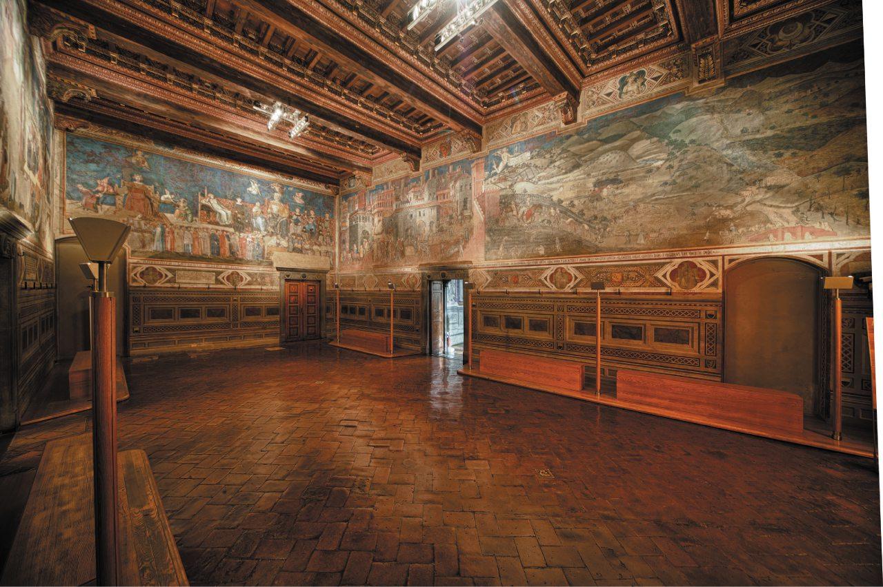 Palazzo pubblico, su Piazza del Campo, Siena