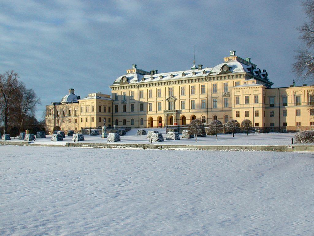 Reggia Drottningholms, patrimonio Unesco, da vedere a Stoccolma nelle vacanze di natale