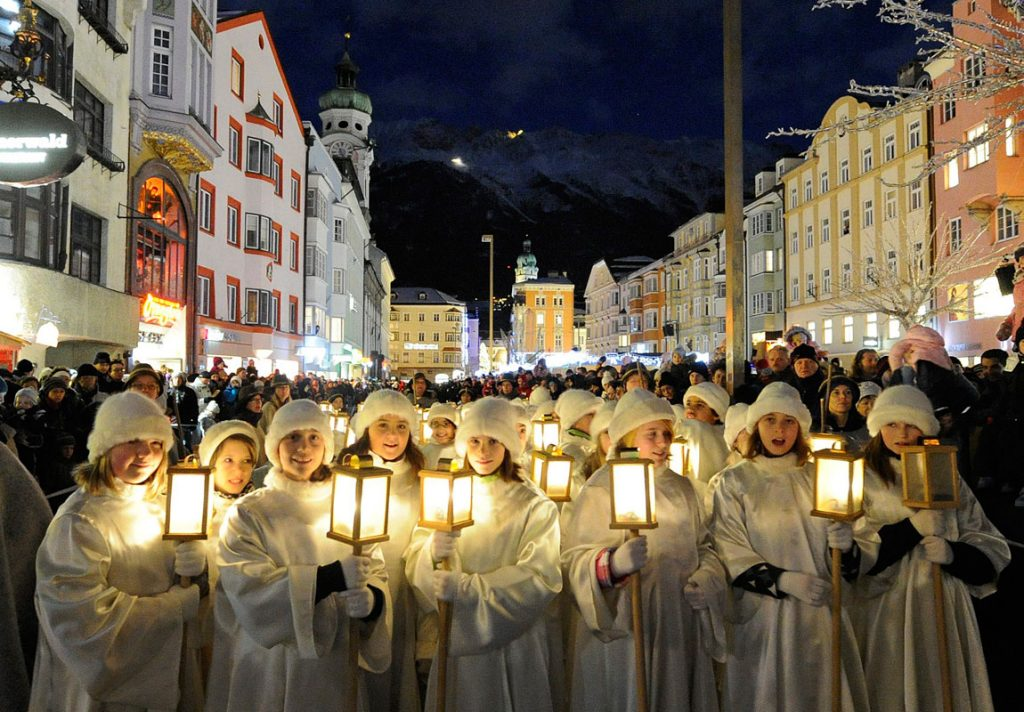 Avvento in Tirolo: i canti di Natale a Innsbruck