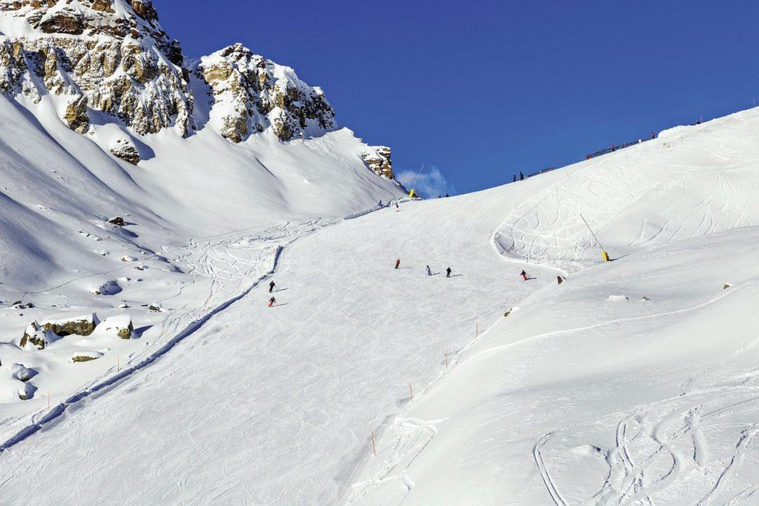 dove sciare sulle Alpi colle della Bettaforca