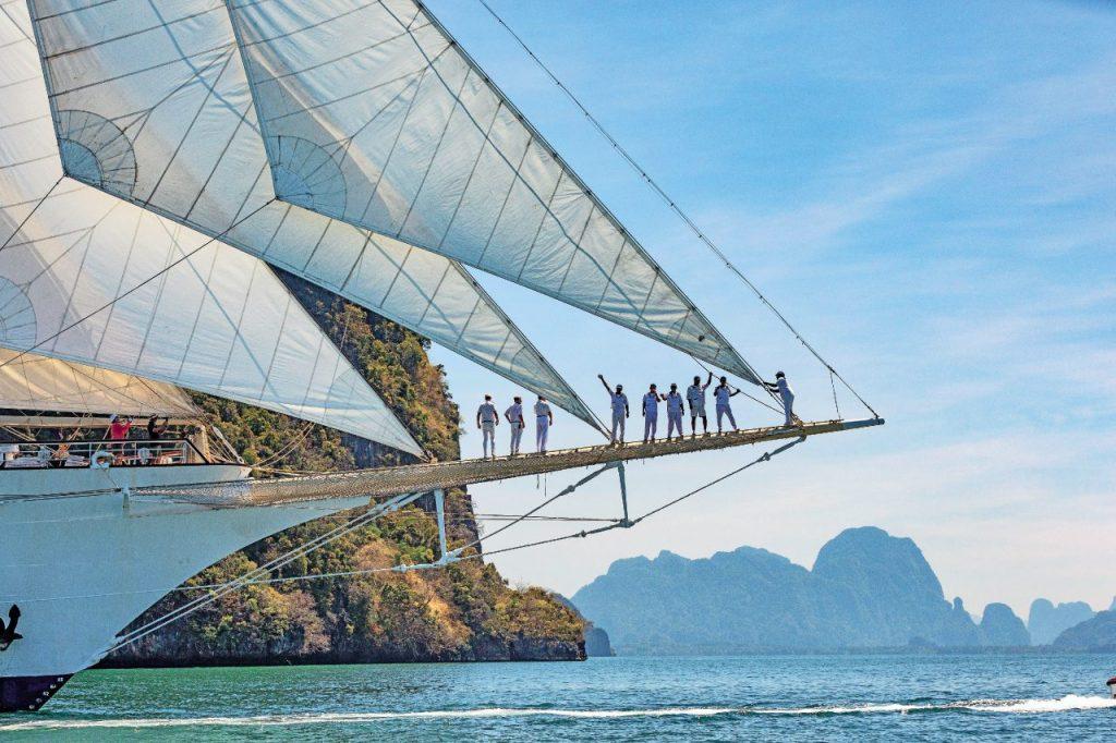 Thailandia in barca a vela sulla goletta Star Clipper