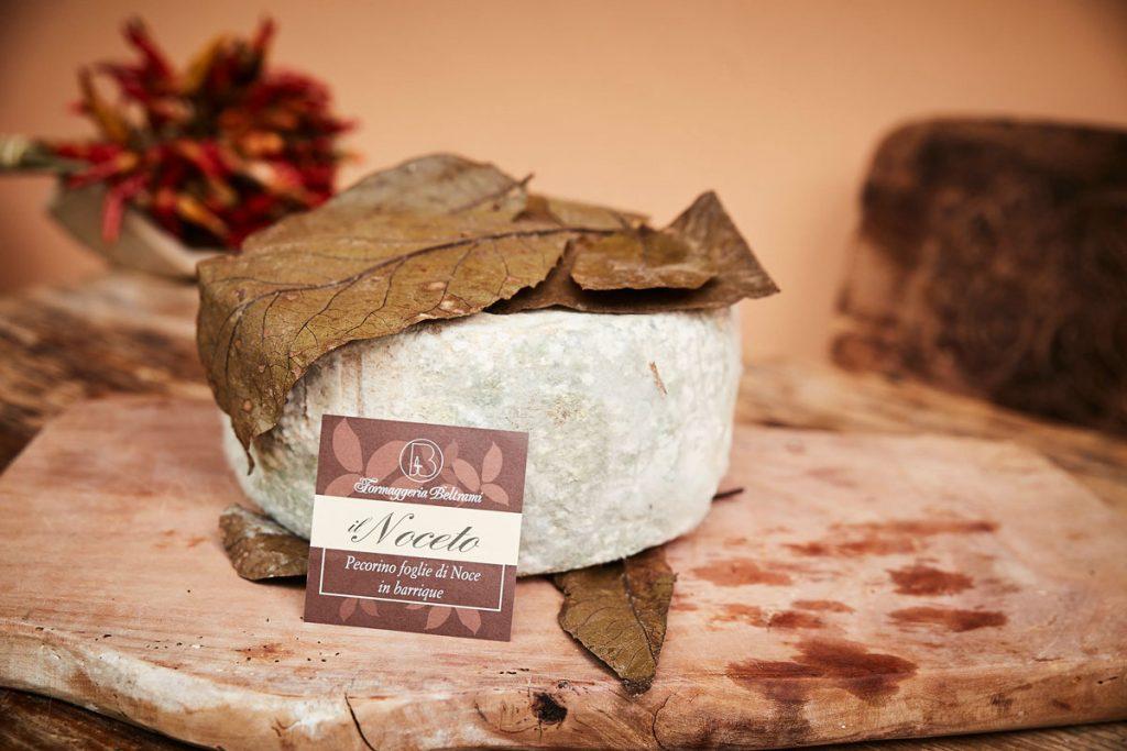 Uno dei formaggi della Gastronomia Beltrami.