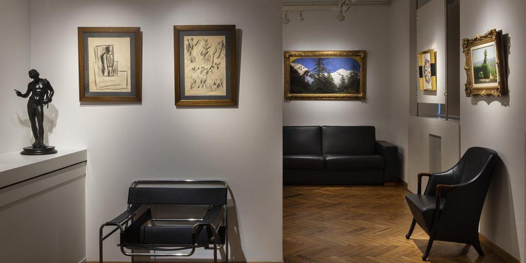 Galleria Bottega antica, MIlano