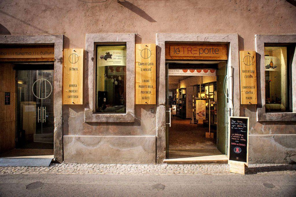 Le Tre Porte, a Rieti: prodotti e degustazioni di eccellenze del territorio.