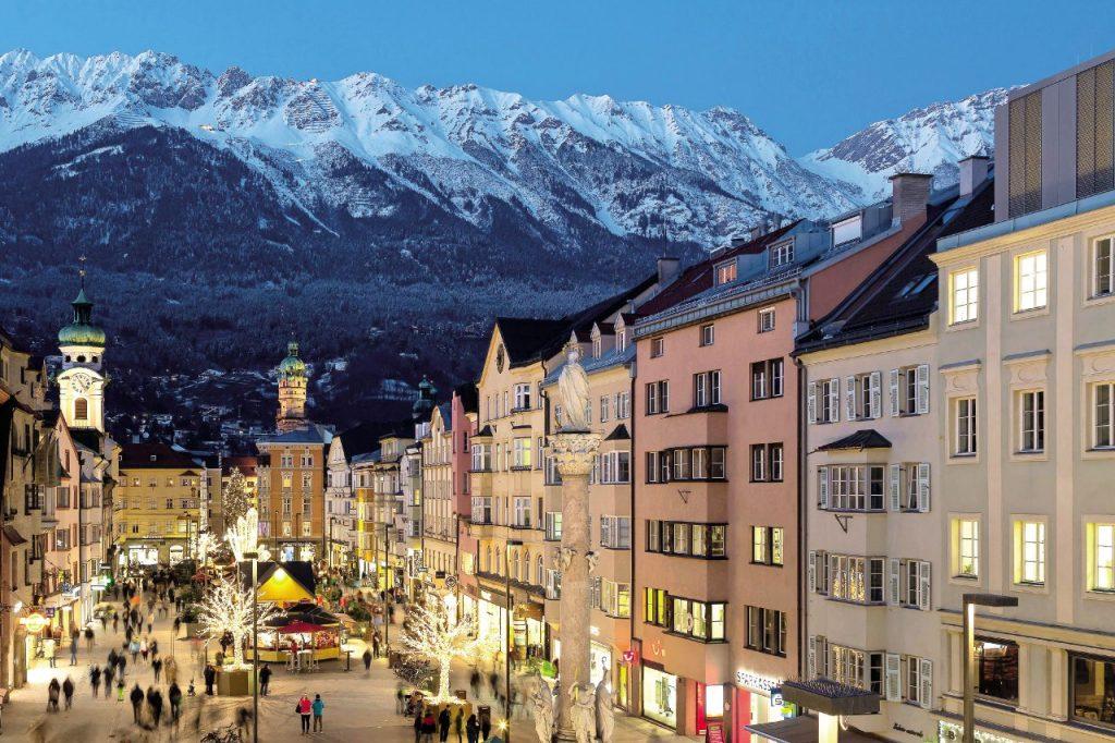 dove sciare sulle Alpi Innsbruck