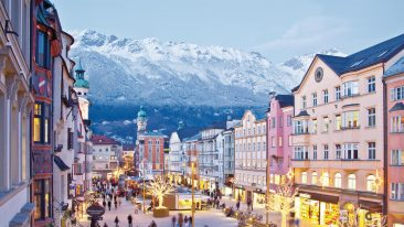 Mercatini di Natale a Innsbruck, Tirolo, Austria