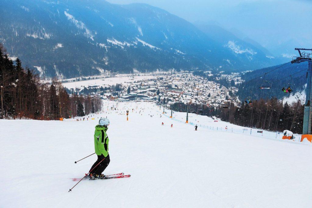 dove sciare sulle Alpi Slovenia
