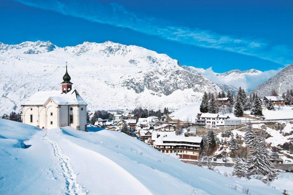 dove sciare sulle Alpi Svizzera