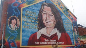 murales di Belfast