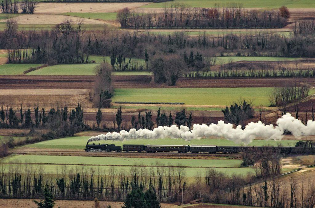treno sulla Pedemontana del Friuli