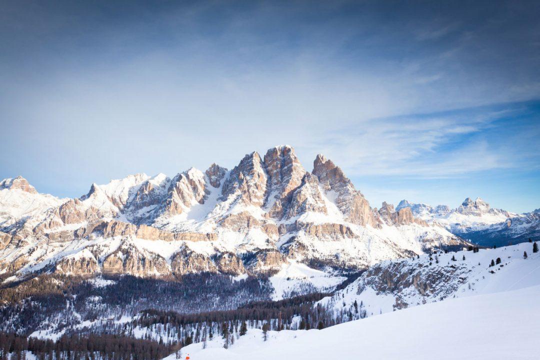 Dolomiti: sci e divertimento sulla neve a Cortina d'Ampezzo