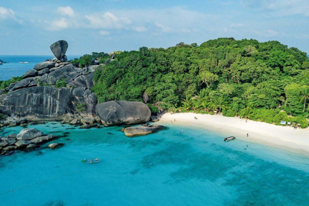 Koh Similan, in Thailandia, meta dove andare in vacanza al mare a febbraio