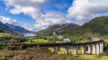 viaggi in treno il viadotto di glenfinnan