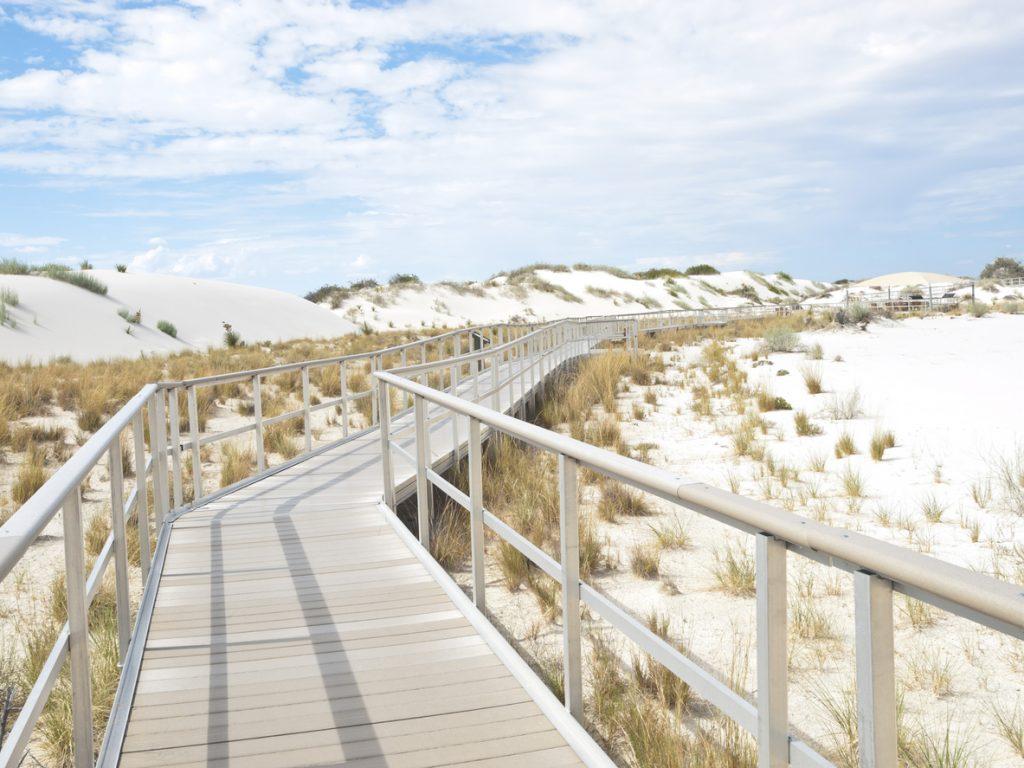tour dei parchi usa: nel New Mexico il White Sands National Park
