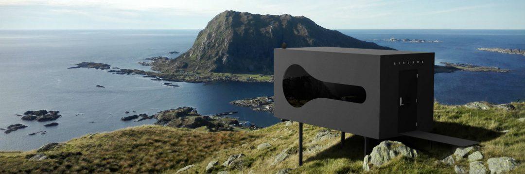 """Birdbox"", i mini rifugi panoramici immersi nei fiordi norvegesi"